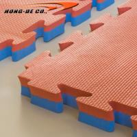 China 1mX1m Gym mat with 20mm,25mm,30mm,35mm,40mm double colour and high density EVA foam on sale