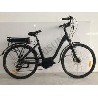 Step Through 700c Custom Electric Bike Customized Painting For City Road