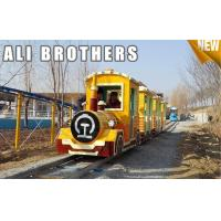Buy cheap Outdoor Amusement Equipment Tourist Electric Train Games New Design Track And Trackless Train from Wholesalers