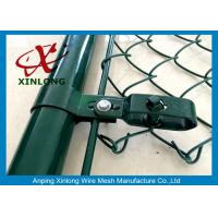 Buy cheap Heave-duty Wire Mesh Fence , Hot Dipped Galvanized Chain Link Fence from wholesalers
