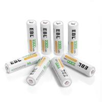Buy cheap Deep Cycle Rechargeable AA Batteries 2300mAh Ni-MH , 4 Packs from Wholesalers