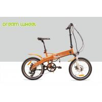 250w Small Foldable Electric Bike Battery Inside 800 Times Recycle Frame Tube
