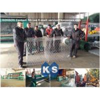 China Heavy Duty Hexagonal Gabion Box Machine Automatic Gabion Production Line 2 x 1 x 1M factory