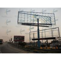 China Custom Unipole Billboard Structure Steel For Outdoor Advertising On Billboard on sale