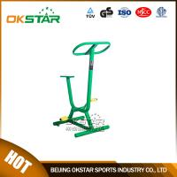 Buy cheap outdoor gym equipment steel based zinc powder coating exercise bike Fitness Bike-OK-Z08A from Wholesalers