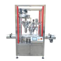 Weighing sensor Automatic milk powder tin filling machine for sale