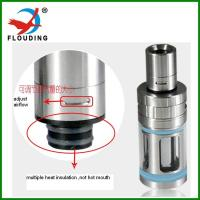 Buy cheap sub ohm tank, top heating, vape big cloud support Ni Ti SS airflow adjusting e cigarette  clearomizer from wholesalers