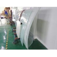 Buy cheap Laminated curved glass, tempered switchable glass, PDLC glass, safety glass from Wholesalers