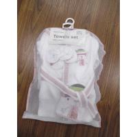China towels set for baby,non-twist woven terry cotton fabric products gift set on sale
