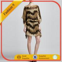 Buy cheap Printed Chiffon Tunic Dress from Wholesalers