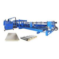 Buy cheap 7.5kw PU Sandwich Panel making Machine With Computer Control from Wholesalers