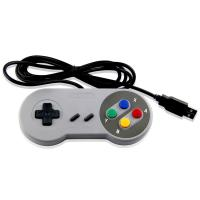 Buy cheap USB Wired NES Classic Game Controller White Color ABS Material Long Cable from wholesalers
