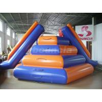 Buy cheap Reinforced Colorful Water Floating Inflatable Water Slide For Water Sports from Wholesalers