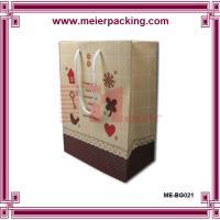 China Personalized paper gift bag/Printed kraft presentation bag for sale ME-BG021