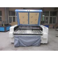 Laser Fabric Cutter CO2 Laser Cutting Engraving Machine , Laser Power 100W