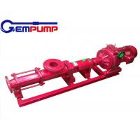 Buy cheap G  type stainless steel Small Screw Pump explosion-proof 0~150m³/h Flow from Wholesalers