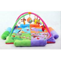 China Animal Garden Baby Activity Gym Mat Babies Activity Gym Customized on sale