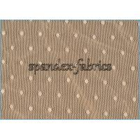 Buy cheap Nude Jacquard Nylon Spandex Mesh Lace Fabric Dot Design Warp Knitting from Wholesalers