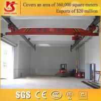 Buy cheap lx model single beam electric overhead underslung travelling crane from Wholesalers