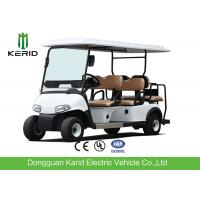 China Luxury Driving Cabin Club Car 6 Passenger Golf Cart With 2 External Rearview Mirrors on sale