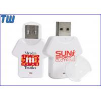 Buy cheap Plastic T-shirt USB Disk Storage 64GB USB Memory Stick Pendrives from wholesalers