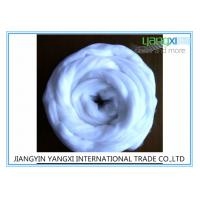 Semi Dull 2.5 Denier White Tops / Polyester Tops For Spinning And Nonwoven