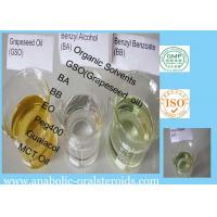 Solvents Pharmaceutical Raw Materials Producing Steroid Oil Solutions