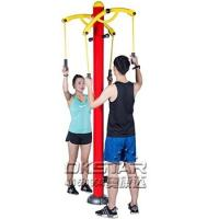 Buy cheap Outdoor Fitness Equipment outdoor arm stretcher upper limbs trainer from Wholesalers