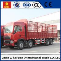 Buy cheap Commercial Cargo Truck SINOTRUK HOWO 12Wheels Euro2 336HP for Logistics from wholesalers