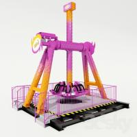 Buy cheap mini dance party 360 degree indoor amusement park rides shopping mall from wholesalers