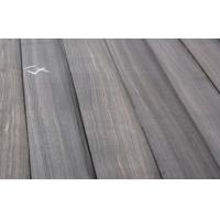 Macassar Ebony Quarter Cut Veneer , Black With White Lines