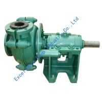 Quality Types of abrasion and corrosion resistant rubber lined slurry pumps EHR-3D for sale