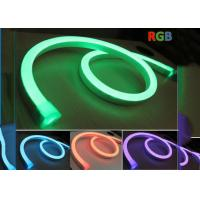 Buy cheap Decorative 24V Neon Led Flexible RGB , Color Changing RGB Led Neon Rope Light from Wholesalers