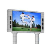 China P6 P8 P10 HD Outdoor Waterproof Led Advertising Screen 1/4 Scan Constant Current