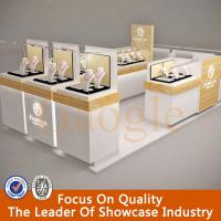Buy cheap hot sales modern glass jewelry display showcase/jewelry kiosk from Wholesalers