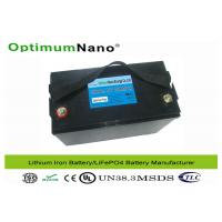 Buy cheap Group 31 Deep Cycle lithium 12v deep cycle battery 100Ah with Automatic Internal Cell Balancing from wholesalers