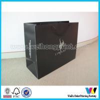 Buy cheap Colorful Handmade Paper board bag Support UV Coating / Matt Lamination from Wholesalers
