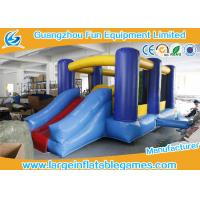 Buy cheap Small Inflatable Bounce House With Slide / Childrens Bouncy Castle from Wholesalers