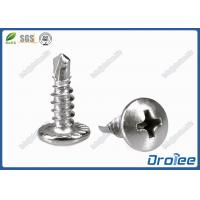 China 304/316/410 Stainless Steel Philips Serrated Pan Head Self-drilling Screws on sale