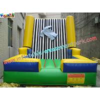 Buy cheap Velcro Walls,Sticky Games For Childrens Inflatable Sports Games 4L x 3.5W x 2.5H Meter from Wholesalers