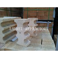 Special Shape Refractory High Alumina Clay Bricks For Fireplace / linings