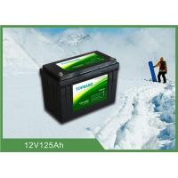 Buy cheap Durable Lithium Iron Phosphate Lifepo4 Batteries 12V 125ah With Low Temp Function from Wholesalers