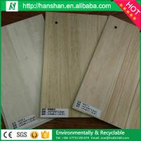 China Modern Luxury antislip fireproof plastic wood plank flooring/ pvc flooring plank on sale