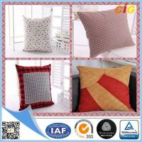 China Customized Outdoor Cushion Covers , Sofa Seat Cushion Cover With Polyster And Cotton on sale