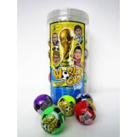 Buy cheap Football Shape 6g Multi Fruit Flavored Hard Candy In Jars Personalized from Wholesalers