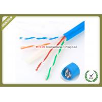 Buy cheap 23AWG Gigabit Cat6e Network Cable For Security POE Monitoring Project from wholesalers