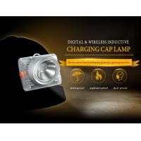Buy cheap 6.6 Ah 15000lux Led Mining Cap Lamp , Underground Miners Cap Lamp from Wholesalers
