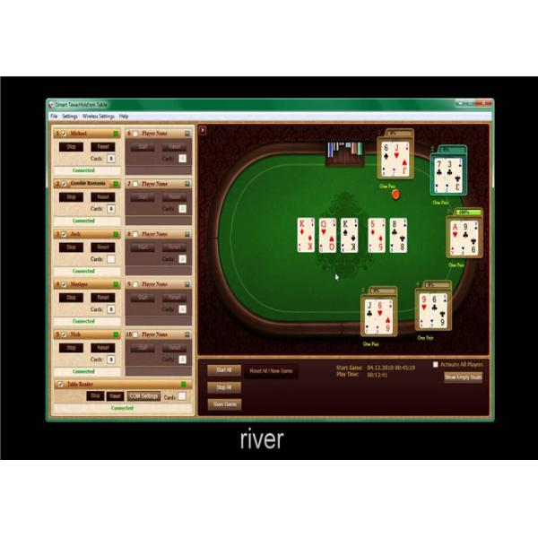 single operation texas holdem poker software for reporting best