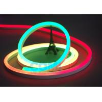 24V Multi  RGB Color Neon LED Strip Lights Waterproof For Contour Profile Holiday Decoration