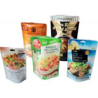 Buy cheap Side Gusseted Resealable Food Packaging Foil Coffee Bags With Valve Matte Finished from Wholesalers